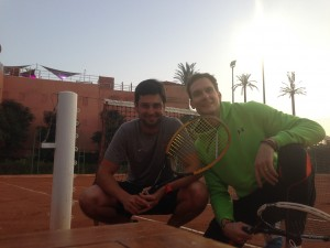 Tennis Match Marrakesch